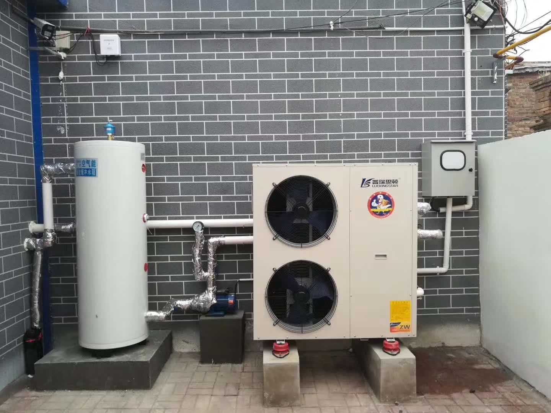 空气能采暖费贵不贵?冬季农村自建房100平米空气能热泵