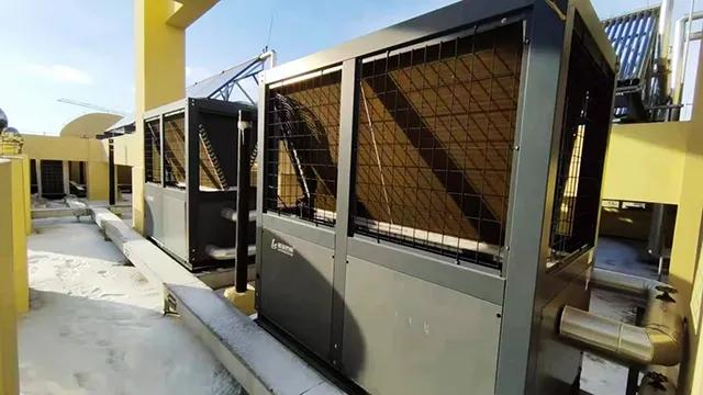 点赞!新修的青岛胶东国际机场用上了广东瑞星空气能