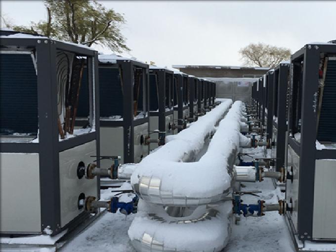 空气能热泵采暖机组冬季防冻要点