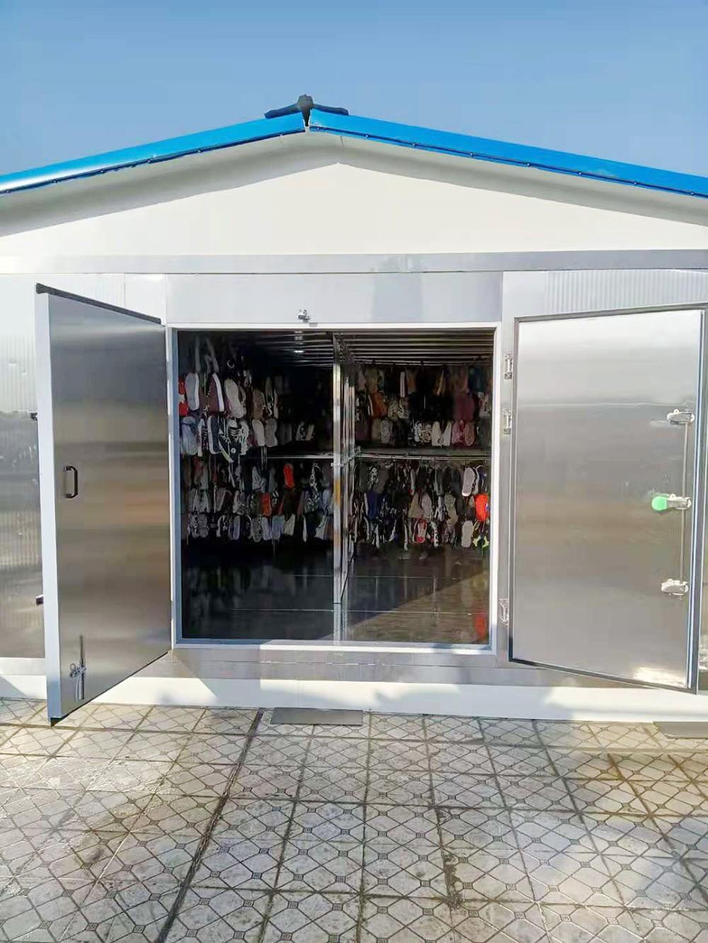 河南省周口市X博小学衣物鞋子空气能热泵烘房