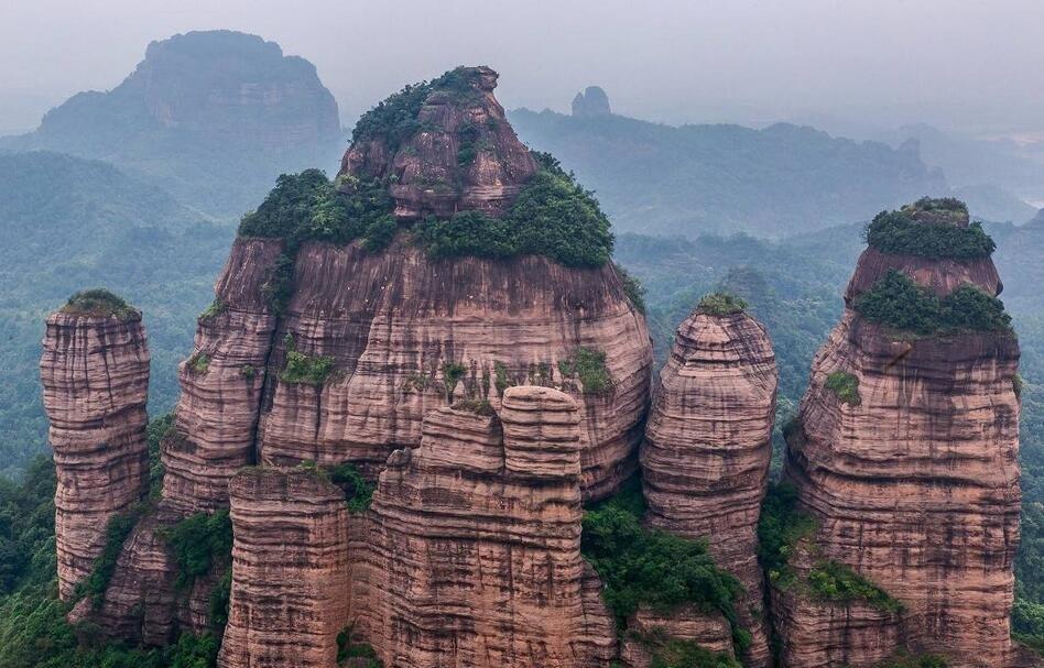 丹霞山美景