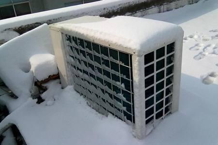 空气能热泵如何解决结霜天气问题