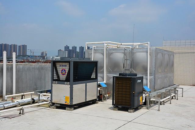 广东瑞星江门制造基地人才公寓热水工程