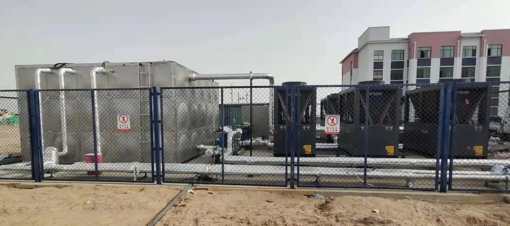 原子弹研发基地中核404厂热泵采暖热水工程