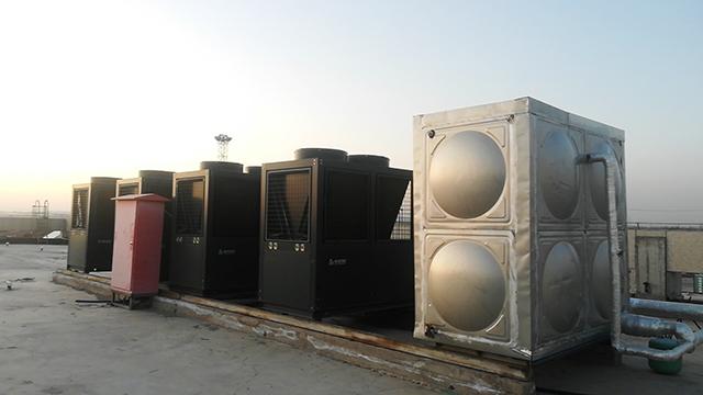高一年级的享受!兰州新区海关选用广东瑞星空气能热泵
