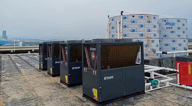 工程案例:更好的热泵,更好的热水服务