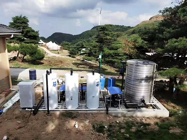 不一样!这家景区民宿用上了分仓储能承压热泵热水系统