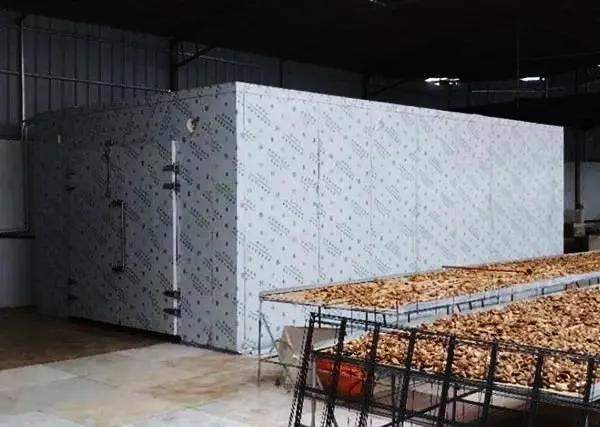 烘干工程 | 量大质优!广西桂林的菌类热泵烘房长这样